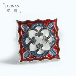 Luonan - 压纹图案袖扣