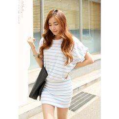 REDOPIN - Cotton Stripe Dress