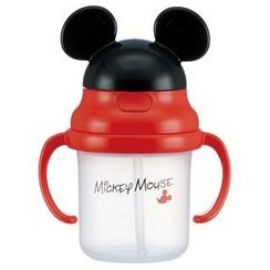 Skater - Mickey Mouse Plastic Cup with Straw for Kids