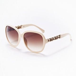 Moonbasa - Chain Accent Sunglasses