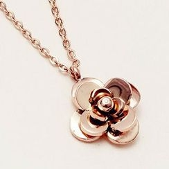 Nanazi Jewelry - Rose Necklace