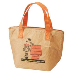 Skater - SNOOPY Faux Leather Lunch Bag