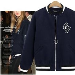 Coronini - Woolen Zip Jacket
