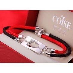 COISE - Couple Matching 925 Silver Bracelets