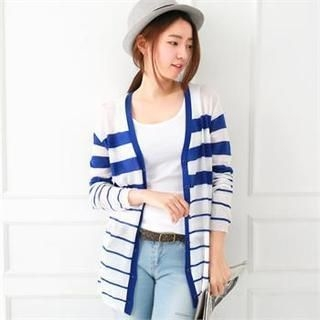 lovs - Sheer Striped Cardigan