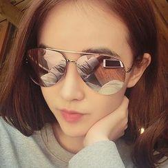 Biu Style - Reflective Sunglasses