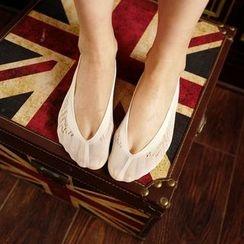MITU - 通花船襪