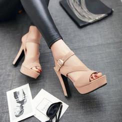 Pastel Pairs - 高跟凉鞋