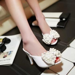 JY Shoes - Beaded Mules