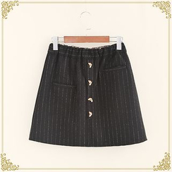 Fairyland - Striped A-line Skirt