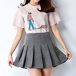 Ashlee - Pleated Skirt