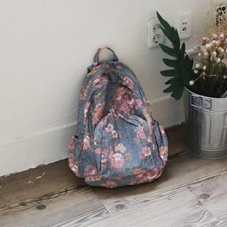 GOROKE - Floral Patterned Backpack