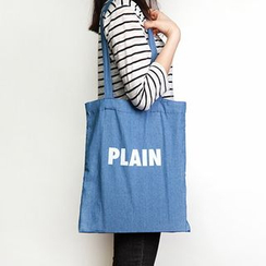 BABOSARANG - Lettering Cotton Shopper Bag