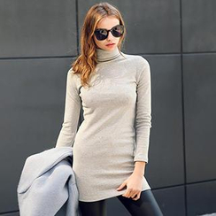 Ranee - Turtleneck Long-Sleeve Top