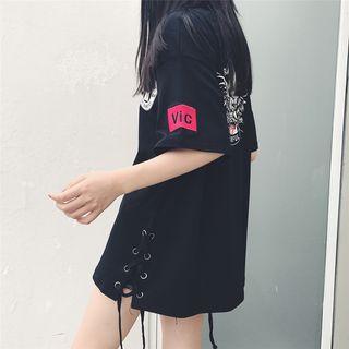 Princessy - Print Short-Sleeve T-Shirt