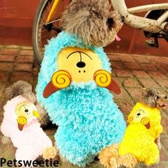 Pet Sweetie - Furry Sheep Fleece Dog Costume