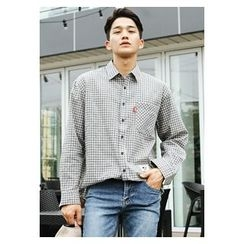 HOTBOOM - Cotton Check Shirt