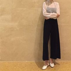 Big Cat - Plain Culottes