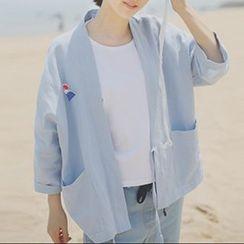 Miss Kekeli - Embroidered Kimono Jacket
