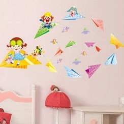 LESIGN - Paper Airplane Wall Sticker