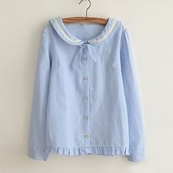 Angel Love - Sailor Collar Shirt