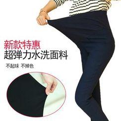 Viana Smile - Maternity High-waist Elastic  Tights