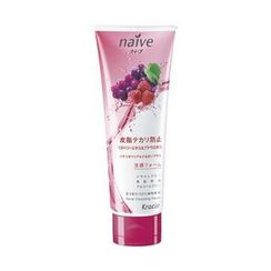 Kracie - Kracie Naive Facial Cleansing Foam (Grape & Raspberry)