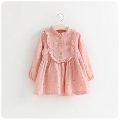 Rakkaus - Kids Long-Sleeve Ruffled Dress
