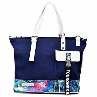 Fourone - Printed Panel Canvas Tote