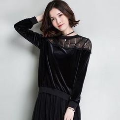 Romika - Lace Panel Sweatshirt