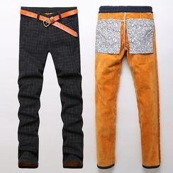 Harvin - Fleece-lined Skinny Jeans