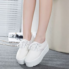 Wello - Platform Canvas Sneakers
