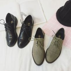 SouthBay Shoes - Faux Leather Oxfords