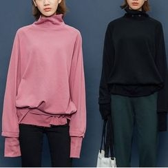 Heynew - High Neck Sweatshirt