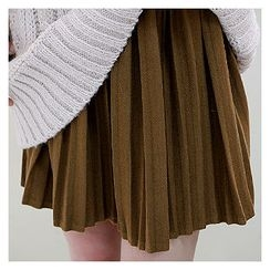 Sechuna - Pleated Mini Skirt
