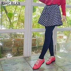 RingBear - Plaid Skort