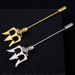 Andante - 三叉戟胸針