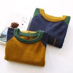 布丁坊 - 插色毛衣