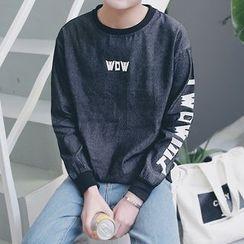 Besto - Lettering Sweatshirt