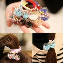 Miss Floral - Glass Ball Hair Tie