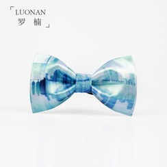 Luonan - Printed Bow Tie