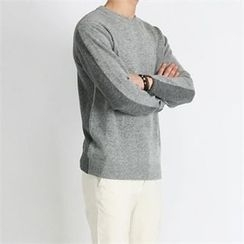 THE COVER - Two-Tone Wool Blend Sweater