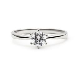 Glamagem - Forever Eternity Ring (Six-Prong Streamline Classic Model)