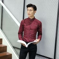 Riverland - Patterned Long-Sleeve Shirt