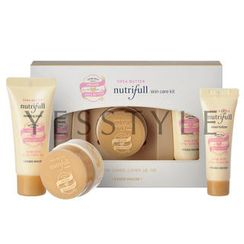 Etude House - Nutrifull Shea Butter Skin Care Kit (3 items): Essentializer 10ml + Cream 10ml + Sleeping Pack 20ml