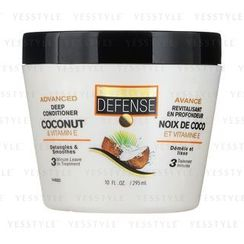 DAILY DEFENSE - Advanced Deep Conditioner Coconut and Vitamin E (Detangles and Smoothes)
