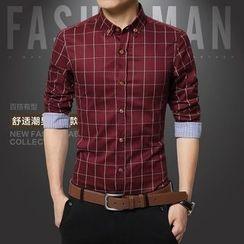 Bingham - 格子长袖衬衫