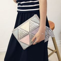 Secret Garden - Studded Panel Clutch