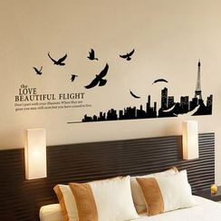 LESIGN - City Wall Stickers