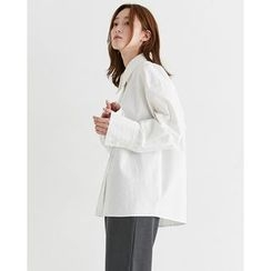 Someday, if - Loose-Fit Cotton Shirt